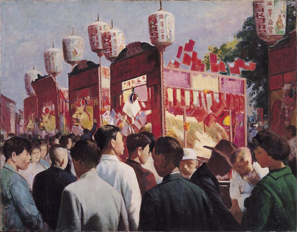 祖師廟慶典, 李梅樹