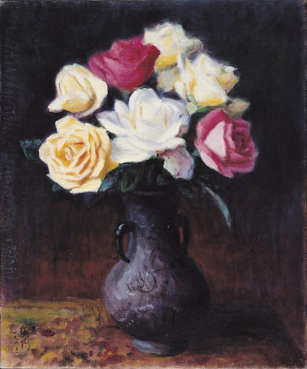 玫瑰, 李梅樹